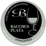 Silver Bacchus, vintage 2.015, Bacchus Awards 2.016, Spain