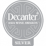 Silver Medal, 91 points, Decanter Asia 2019