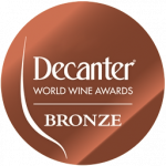 Bronze Medal, vintage 2.009, Dencanter Awards 2.012, UK